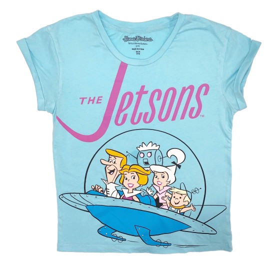 The Jetsons Graphic T-Shirt Sz S Hanna-Barbera