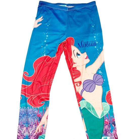 The Little Mermaid Leggings Size Large