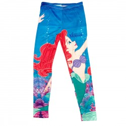 The Little Mermaid Leggings Size Large