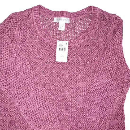 Purple Maternity Sweater Sz Small NWT