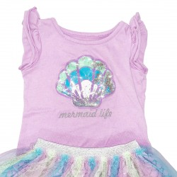 Girls Toddler Mermaid Outfit Size 3T