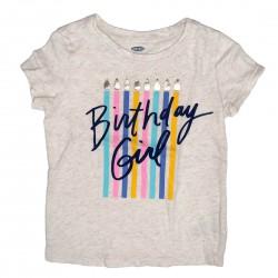 Birthday Girl Short Sleeve Tee Size 3T