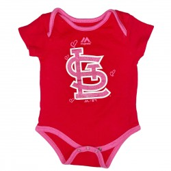 St. Louis Cardinals Baseball Onesie Size 6/9M