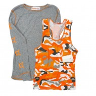 Orange Theory Long Sleeve and Tank Shirts Sz M