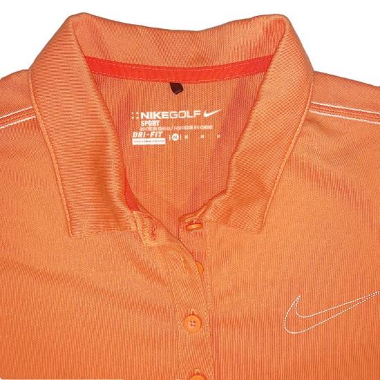 Nike Golf Dri-Fit Women's Polo Sz M