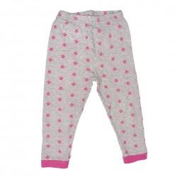 Gray and Pink Girls Pajama Pants 3T