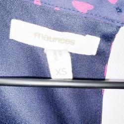 Maurices Sleeveless Blue Dress Sz XS