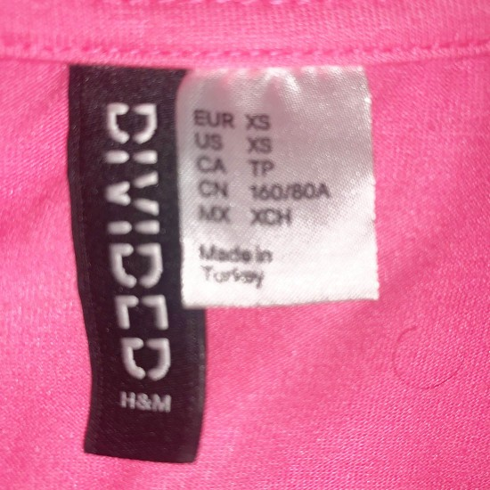 Crop Top Pink Size XS