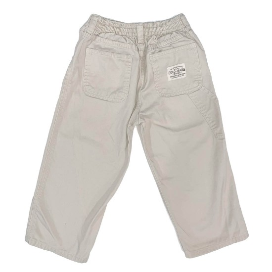 Boys Polo Jean Khaki Pants Size 3T