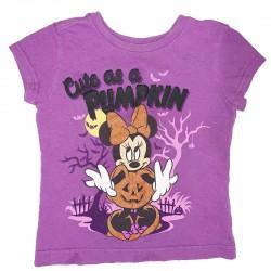 Purple Halloween Shirt Sz 2-3 Toddler