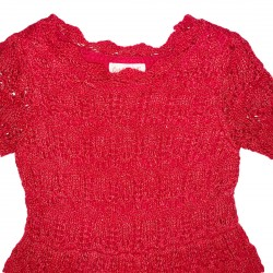 Cat and Jack Red Toddler Sweater Dress 2T