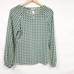Rose & Olive Blouse Size Small