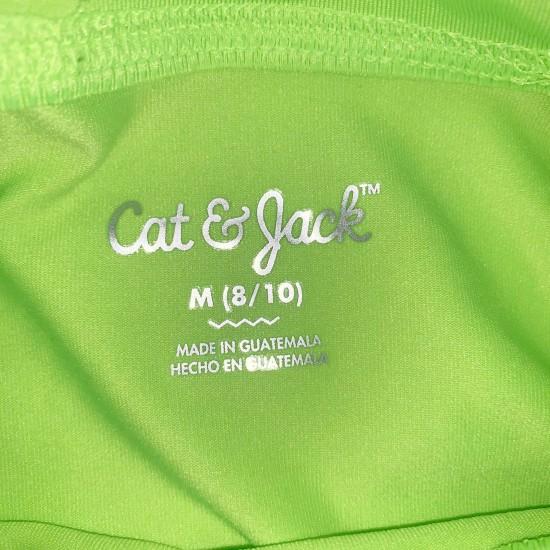 Boys Green Long Sleeve UPF Shirt NWT Sz M