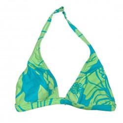 Speedo Blue & Green Bikini Swim Top Sz 10