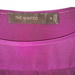 The Limited Purple Blouse Sz M