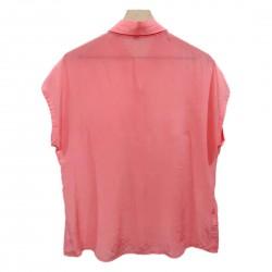 Tommy Bahama Women's Sheer Button Down Blouse Sz M