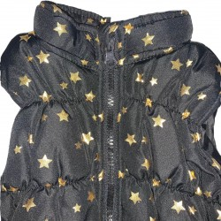 Black and gold toddler vest Sz 18M