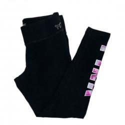 Victorias Secret Black Yoga Pants Sz Large