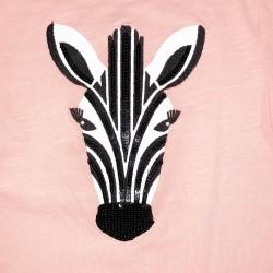 Gymboree Short Sleeve Zebra Top Sz 6