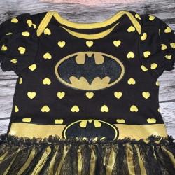 Bat Girl Onesie Size 6-12 Months