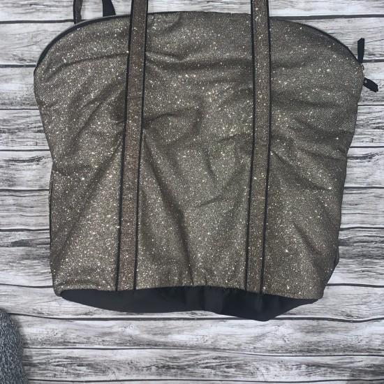 Victorias Secret Gold Tote Bag