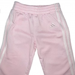 Girls Pink Adidas Pants Sz 9M