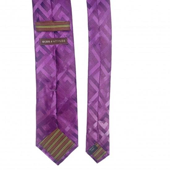 purple-silk-neck-tie