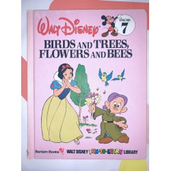 Birds and Trees Flowers and Bees Children's Book Disney