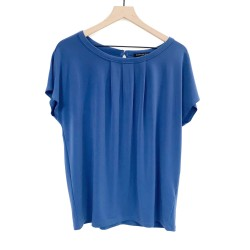 Banana Republic Blue Short Sleeve Top Size Large