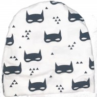 Black and White Toddler Hat