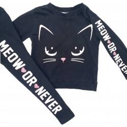 Girls Cat Matching Outfit Sz 2-4