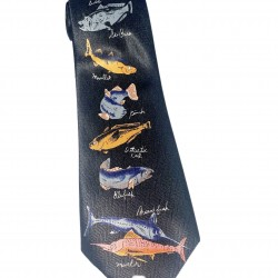 Mens Fish Tie