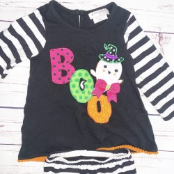 Halloween Toddler Outfit Top and Bottom Sz 2T