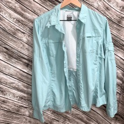 Columbia Titanium Button Down Size XL/TG