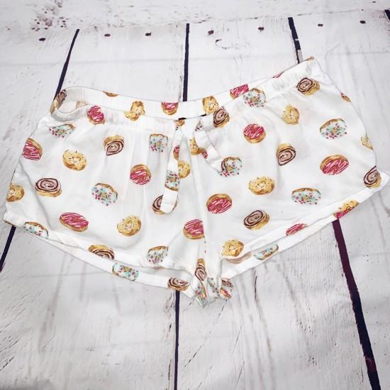 Donut Drawstring Shorts Size Large