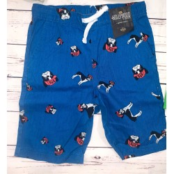 Boys Blue Bull Dog Shorts Sz M 10/12
