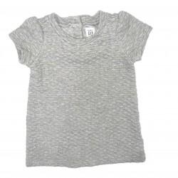 Gray Short Sleeve Dress Sz 12-18 Months