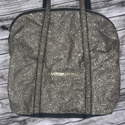Victorias Secret Gold Tote Bag