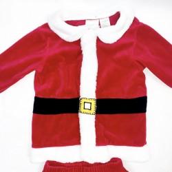 Boys Santa 2 Piece Santa Outfit Sz 24 Months