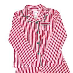 Candy Stripe Christmas Pajama Pants Sz 14