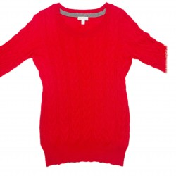 Red Maternity Sweater Size L