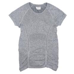 Gray Athleta Short Sleeve Top Sz S