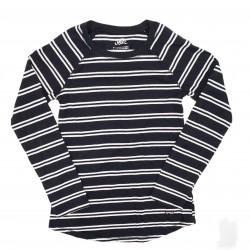 Basic Girls Long Sleeve Stripe Justice Top Sz 7