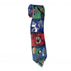 Looney Tunes Stamp Neck Tie