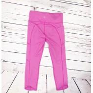 Pink Athleta Capri leggings Sz M