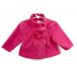 Pink Pea Coat Sz 12 Mo