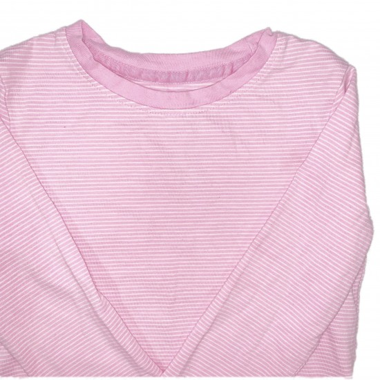Girls Basic Long Sleeve Top