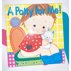 Children's Book A Potty For Me