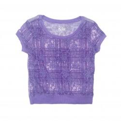 Purple Short Sleeve Top Sz 7