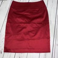 Red Pencil Skirt Sz Small/Petite